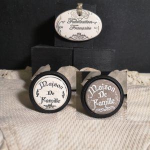 Bouton-poignee-meuble-button-handle-tiroir-porte-artisanal-original-pub-cuisine-chambre-maison-famille-presentation-bois-noir